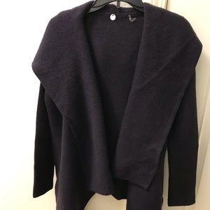 Margaret O'Leary Sweater - Dk Purple